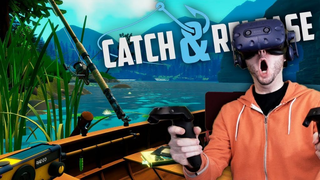 The Best VR fishing game